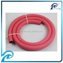 China professional manufacturer fiber reinforced low pressure 300psi air hose pipe in rubber hose