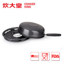 32cm Korea style carbon steel gas bbq grill pan