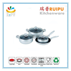 Hot new products for 2015 kitchen item grey stone cookware brands,cookware set kitchen
