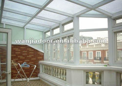 modern house design sunroom roof made in china
