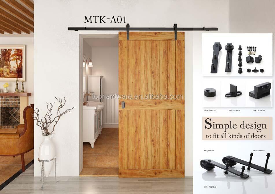 Estilo moderno celeiro interior portas de correr o - Piso porta 2000 ...