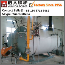 Gas and oil fired industrial low pressure steam boiler, oil fired boiler