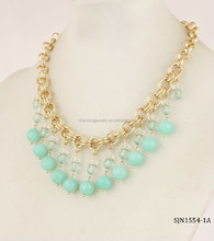 new products 2015 bead collar necklace jewelery