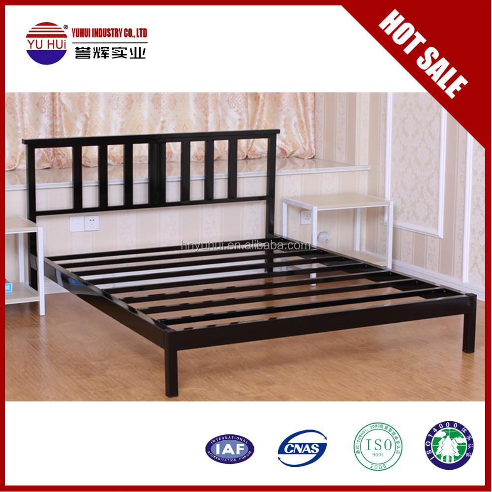 Amazoncom metal bed frame king