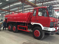 AWD Dongfeng Fire truck off-road cross-country 6x6 fire fighting truck