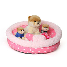 New pet products Bohemia dots cute round bed pet house dog sofa