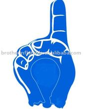 2012 hot blue Inflatable Hand toy for kid