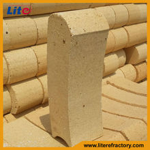 China Different Shapes High Alumina Refractory Ladle Lining Brick with High Temperature Withstand