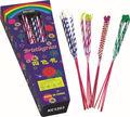 colorido bristlegrass sparkler fuegos artificiales del juguete