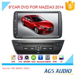 windows car dvd audio system for MAZDA AXELA