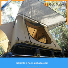 Hot selling camping car roof top tent with mosquito net 2.8m*1.4m