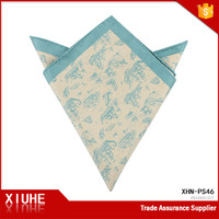 Custom polyester Pocket Square For Men, Fashion Design Pocket Sqaure,Latest Desgin Pocket Square in pattern, 34x34cm
