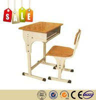 High quality stainless steel panel student desk on sale