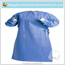 Factory Disposable Medical PP or SMS Non-woven Surgical Gown