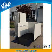 2015 new style disabled wheelchair lift lifting equipment