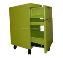 hospital mobile dental cabinet /made of first grade stainless/ steel medical trolley dental furniture