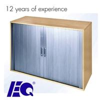 Professional Aluminum Two Door Cabinet Tambour Shutter