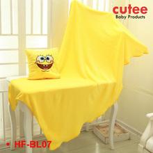 Popular Multifunction Cheap Soft Foldable Fleece Pillow Blanket