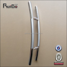 Modern style entrance door stainless steel pull handles
