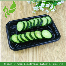 Disposable clear plastic packaging box for vegetable/fresh food