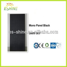 High Power 300W Black Pv Monocrystalline Panel Solar