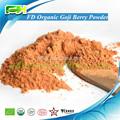 La oferta de superalimento Certified Liofilizado Orgánica Goji Berry Polvo