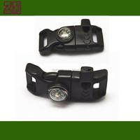 plastic side release buckle ,plastic paracord buckle,plastic whistle buckle for paracord bracelet