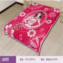 Authentic wedding pleuche blanket double thickening double raschel blanket that winter wedding red blanket mail