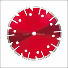 Special-shape u v grooved circular diamond saw blade for dry cutting stone