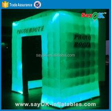 Sayok Custom made stick inflatable photo booth cabinet rental