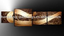 4 panel canvas art oil painting 3d picture home goods wall art