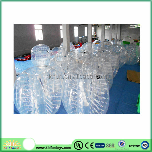 Newly zorbing ball equipment/body zorbing bubble ball for kid 2014