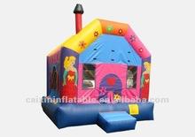 gorila inflable comercial, princesa saltando castillo inflable para la venta