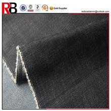 11oz heavy twill blue black stretch 98 cotton denim fabric