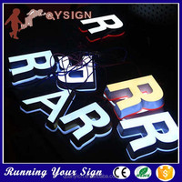 Wholesale save energy mini acrylic alphabet lighted sign letters