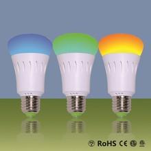 2014 Wifi remote control RGB LED Light Bulb 9W