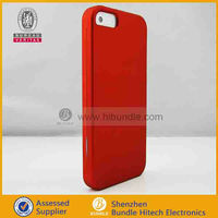rubberized coating cell phone case for Iphone 5