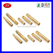 OEM hardware products manufacturer brass plug pins/Brass Pins Electrical Plug Pins/Industrial Brass Female Plug Pin