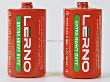 African and Middle-east market China manufacturer battery/Shrink wrap/r20 dry battery