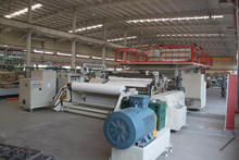 New generation self adhesive, self adhering waterproof underlayment, roofing material production line