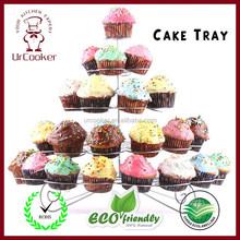 Cupcake desert tower stand,5-layer cake stand