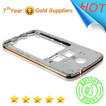Romantic Rose gold mobile Phone housing frame for galaxy S4,for samsung galaxy S4 middle plate