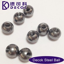 8mm Stainless Steel Spheres With M3 Half Thread Holes Steel Ball
