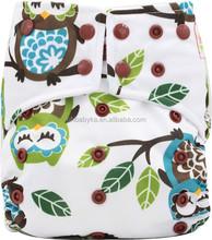 Ohbabyka waterproof baby nappies reusable thirsties cloth diapers