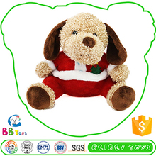 New Styel Good Quality Funny Christmas Plush Decoration Dog