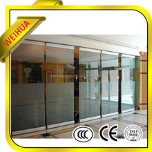 Standard test sliding glass reception window