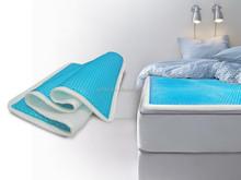 cooling gel mattress topper, memory foam mattress topper, mattress topper