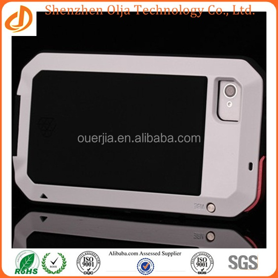 """Metal Aluminum Shockproof Gorilla Glass New Arrival Factory wholesale price High quality waterproof case for iphone 5"""""""