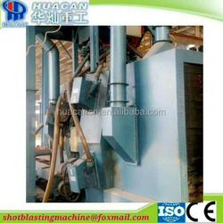 Roller sand blasting machine