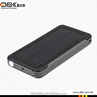6600mah advanced power bank solar portable for laptop tablet mobile phone